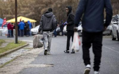 La deportazione di 320 persone
